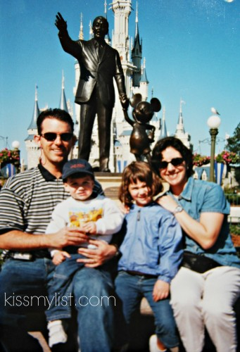 Our very first visit to Disney