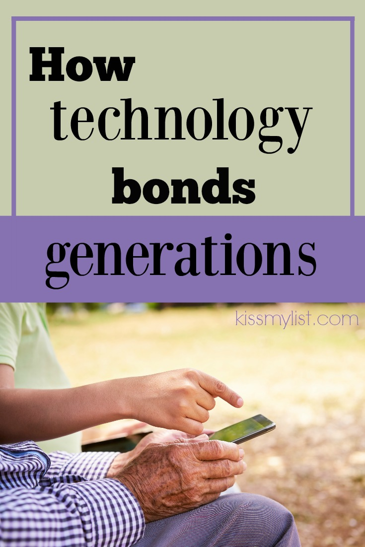 As the world becomes wider and family time becomes tougher to come by, technology is more than a divide between generations.