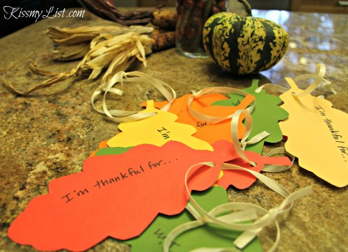 thanksgiving tree leaves