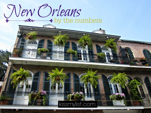 new orleans by the numbers