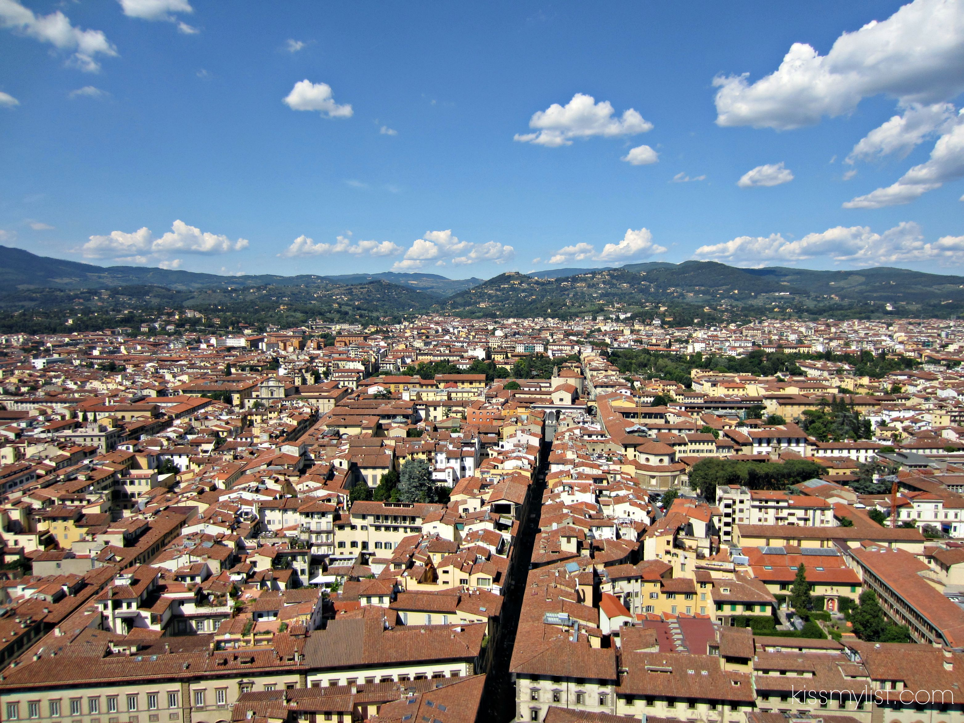 Florence view from Duomo 2