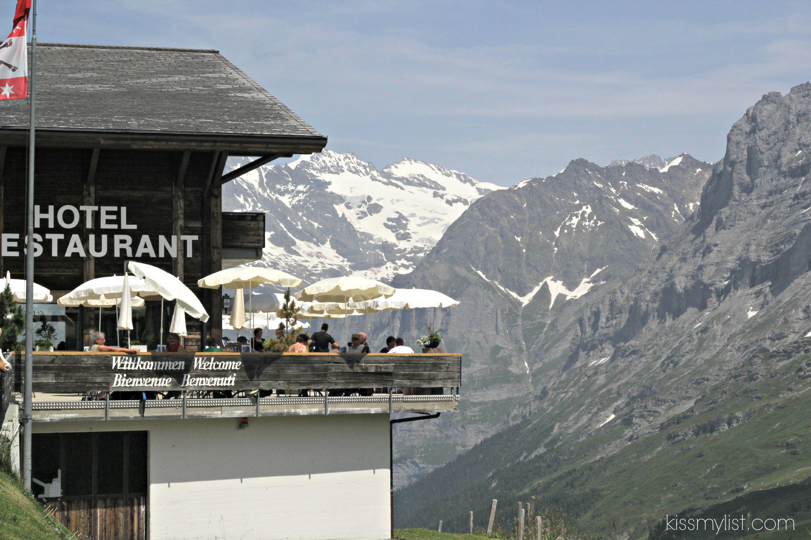 Kleine Scheidegg restaurant