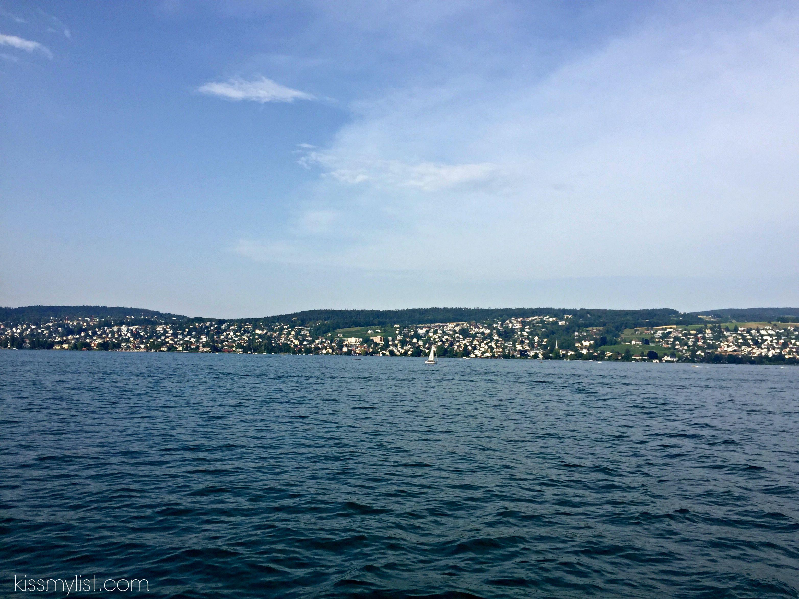 Lake Zurich cruise