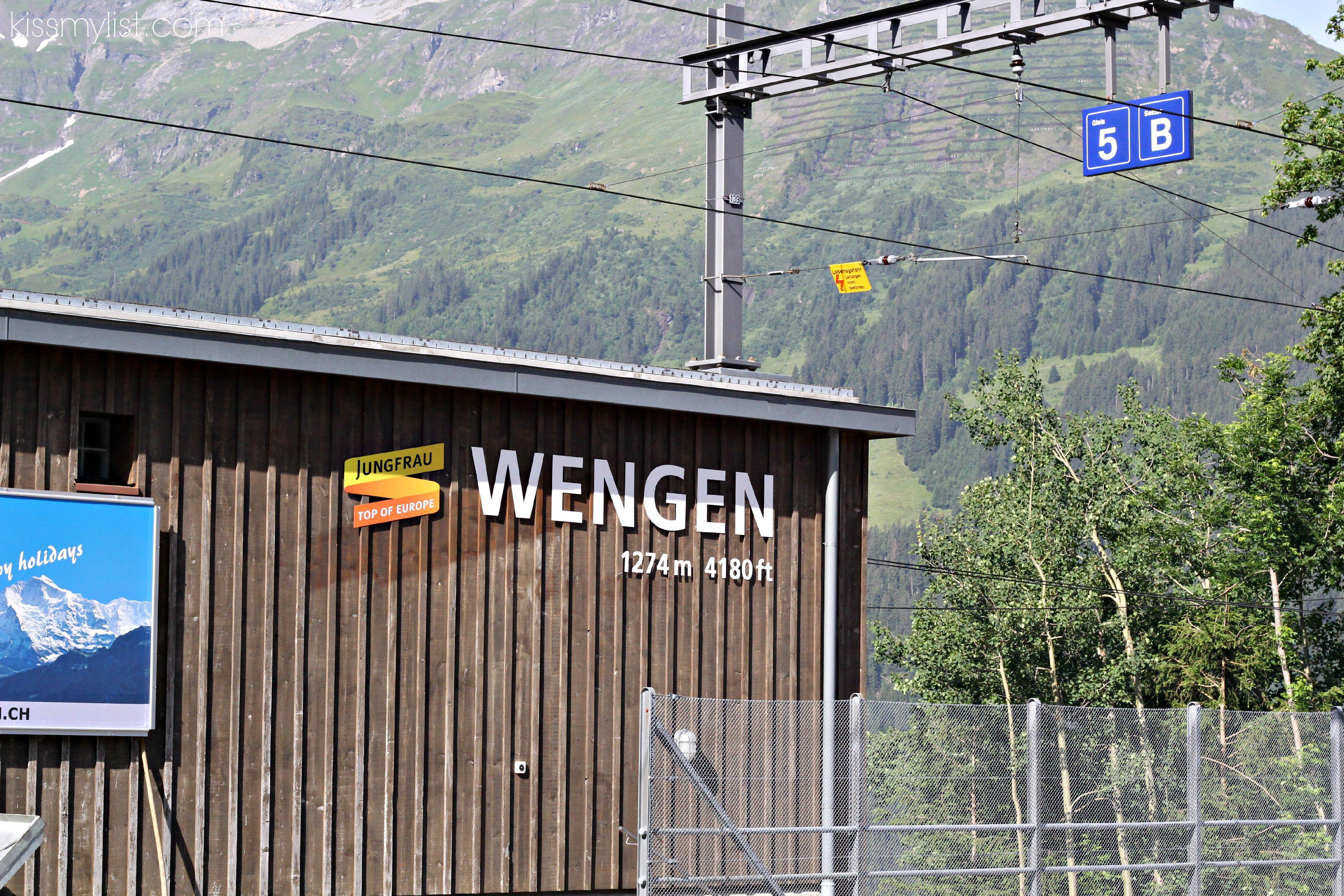 Wengen railway station