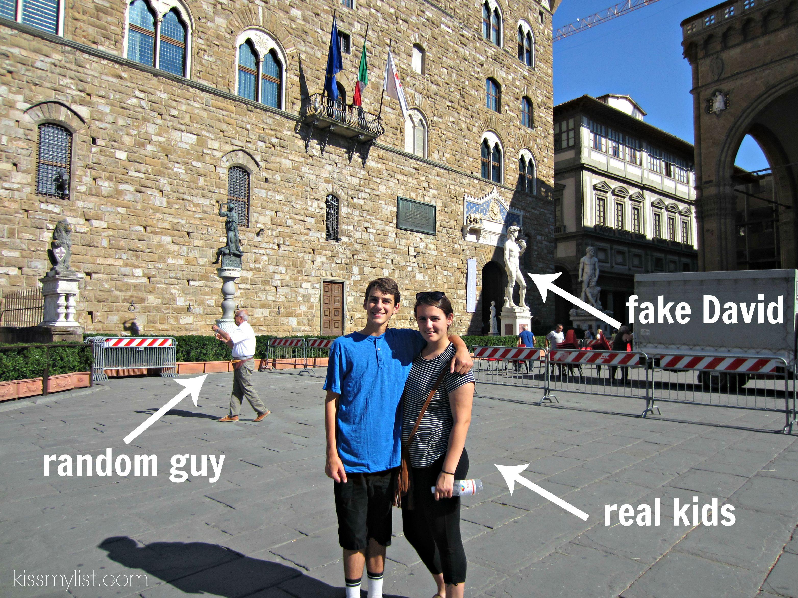 fake David