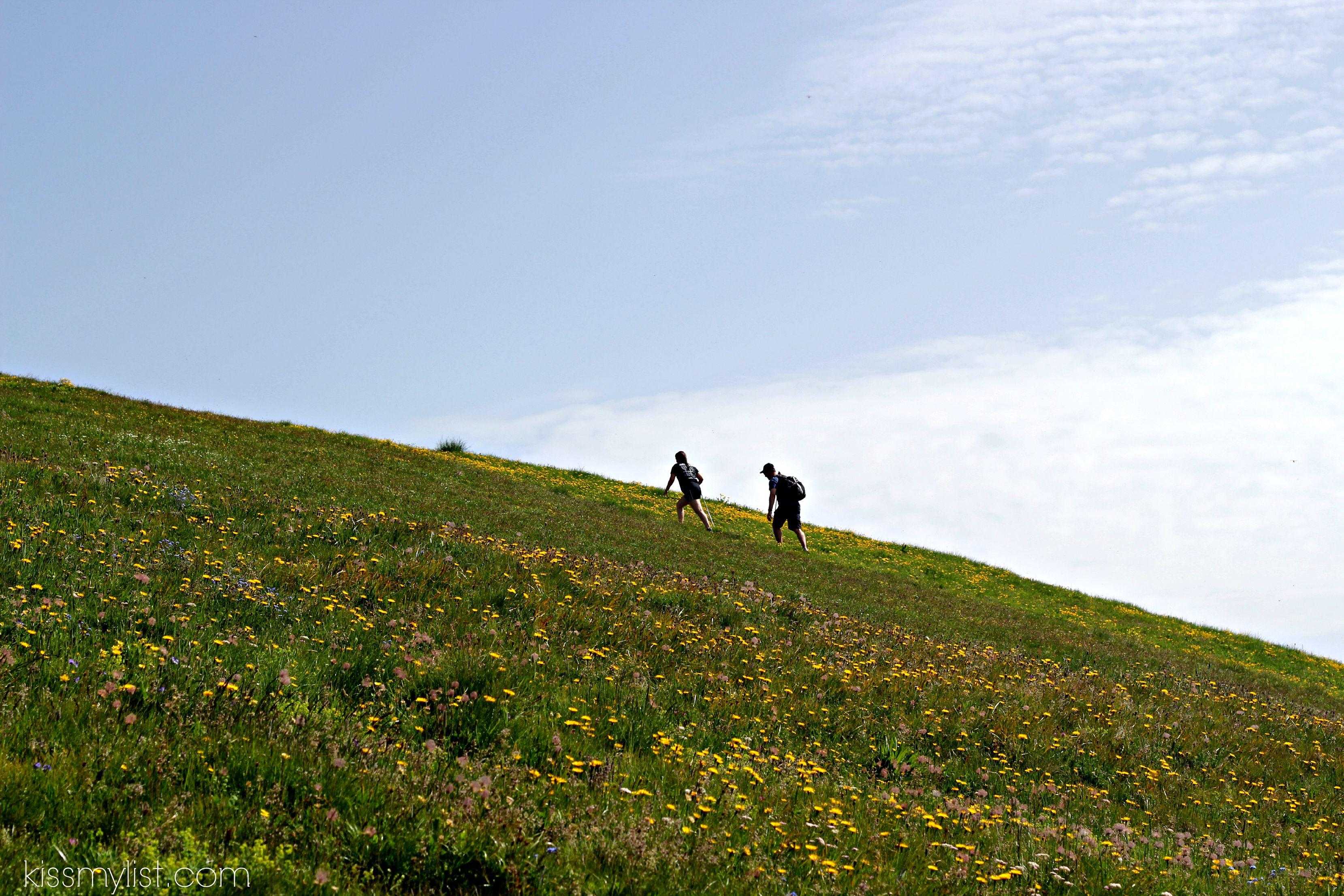 to summit of Mannlichen